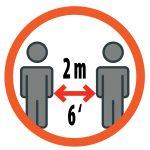 Mesures de prévention: la distanciation sociale