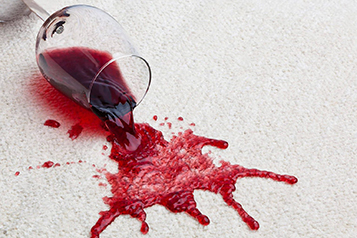 produits détachant tapis tache de vin rouge