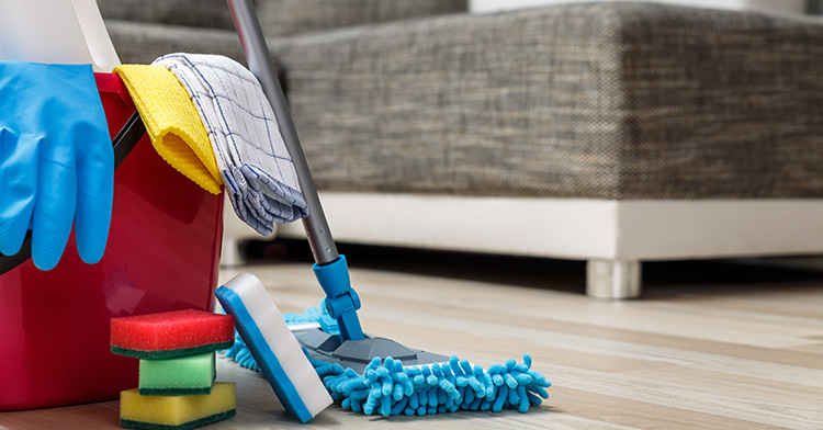nettoyer après un démnagement nettoyant